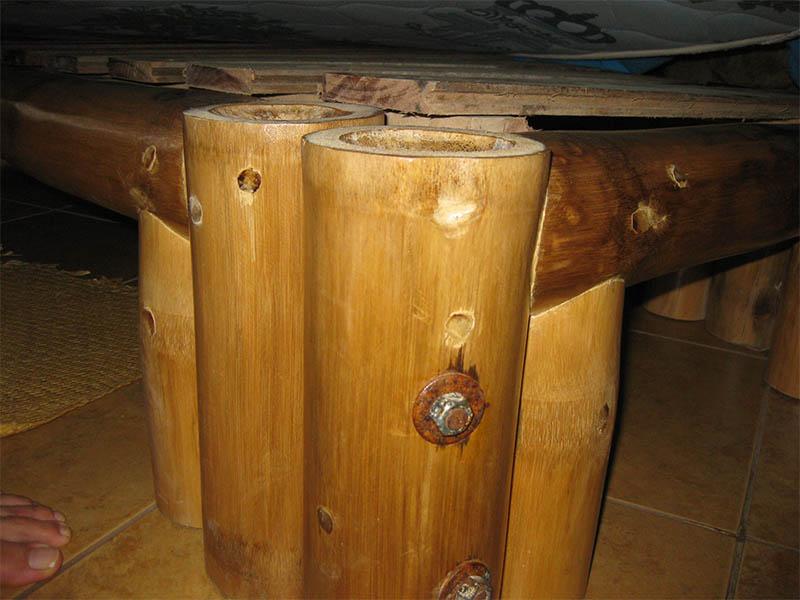 Proyecto Pajky elaboración de muebles con bambú