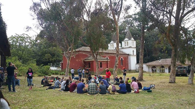 Explicación de la historia de la Hacienda Guachalá